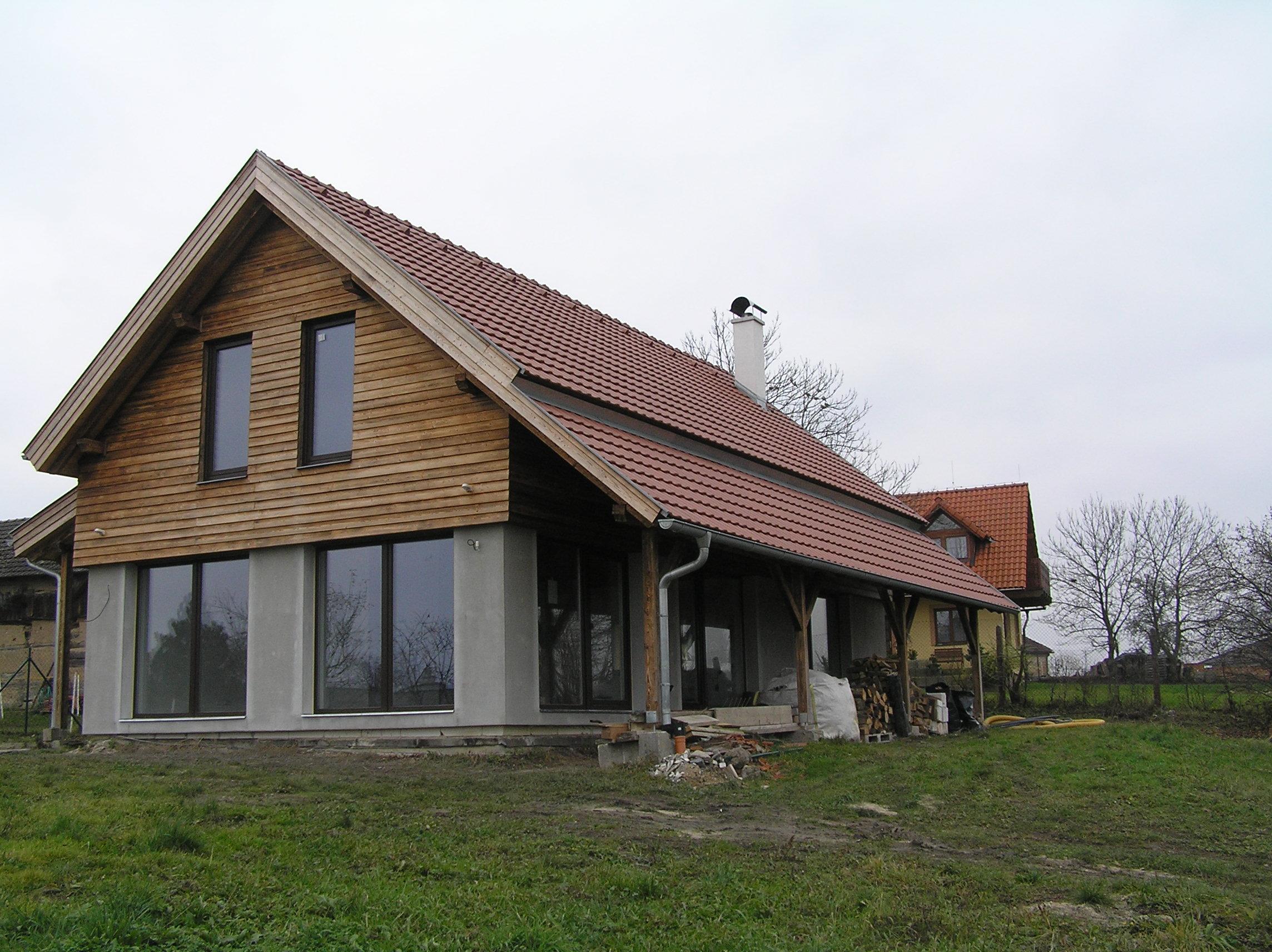 Proměna stodoly v rodinný dům